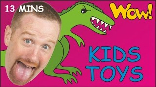 Kids Toys Karate + MORE   English for Children   Short Stories for Kids from Steve and Maggie