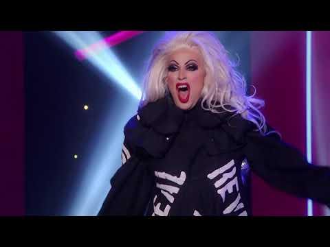 Brooke Lynn Vs Yvie - Edge Of Glory Lipsync HD | Rupaul Season 11 Grand Finale