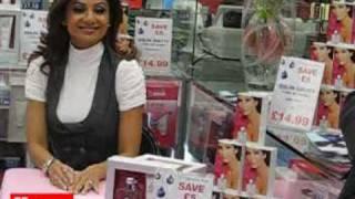 Shilpa Shetty showcases 'S2' at the Bullring, Birmingham