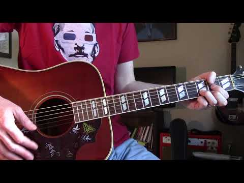 Walk on the Wild Side (Lesson on 2nd Guitar Part) - Lou Reed
