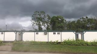 Tormenta previa al diluvio en Edén