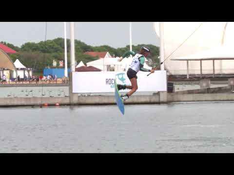 IWWF Word Cup - Shanghai womens Cable Wakeboard Winner