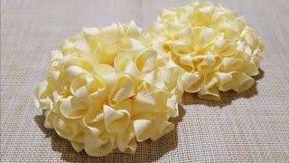 Flores repicadas Modelo Kanzashi