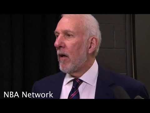 Gregg Popovich after Spurs win [vs Nuggets], Praises Davis Bertans, Talks MLK Day