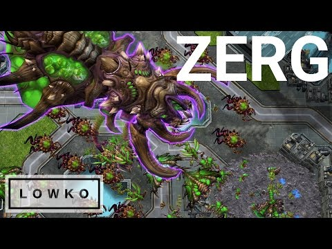 StarCraft 2: Zerg In REAL SCALE!