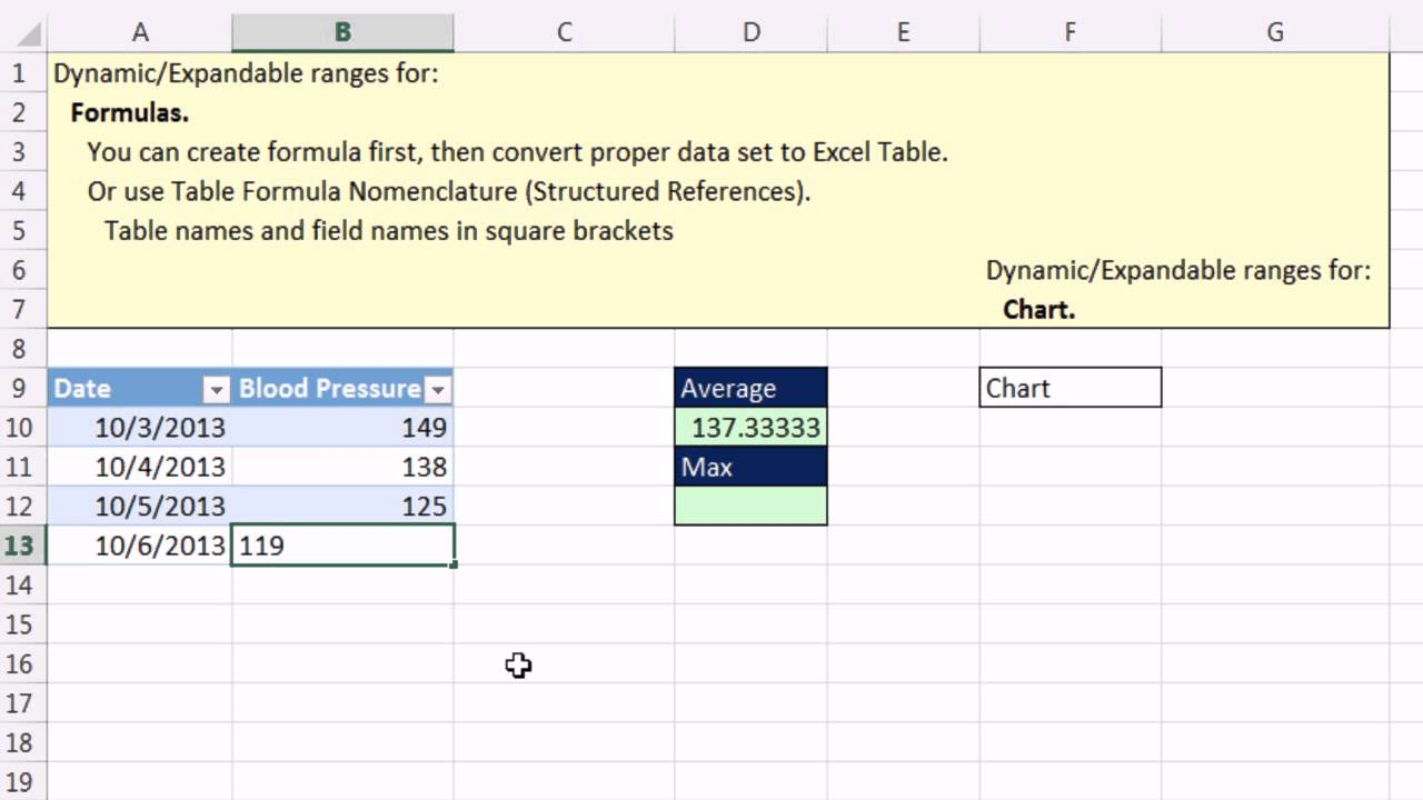 Highline Excel 20 Class Video 20 Excel Table Formula Nomenclature /  Structured References 20 Ex.