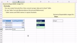 Highline Excel 2013 Class Video 08: Excel Table Formula Nomenclature / Structured References 22 Ex.