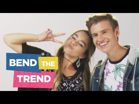 SierraMarieMakeup and Josh Tryhane: National Shoutout Day + Back to School | Bend the Trend Ep 3