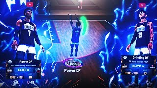 How POWER & GRINDING DF DOMINATE in the STAGE! BEST DUO TWO 99 OVERALL STRETCH BIGS! NBA 2K19