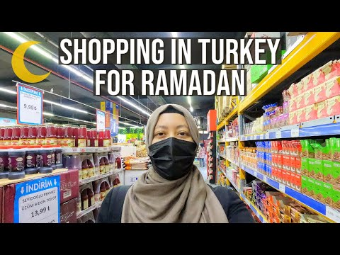 Shopping In Turkey For Ramadan