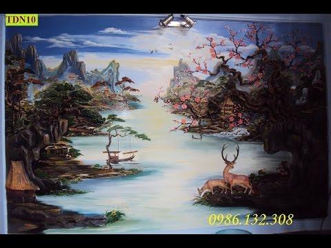 Tranh ve dep nhất Việt Nam