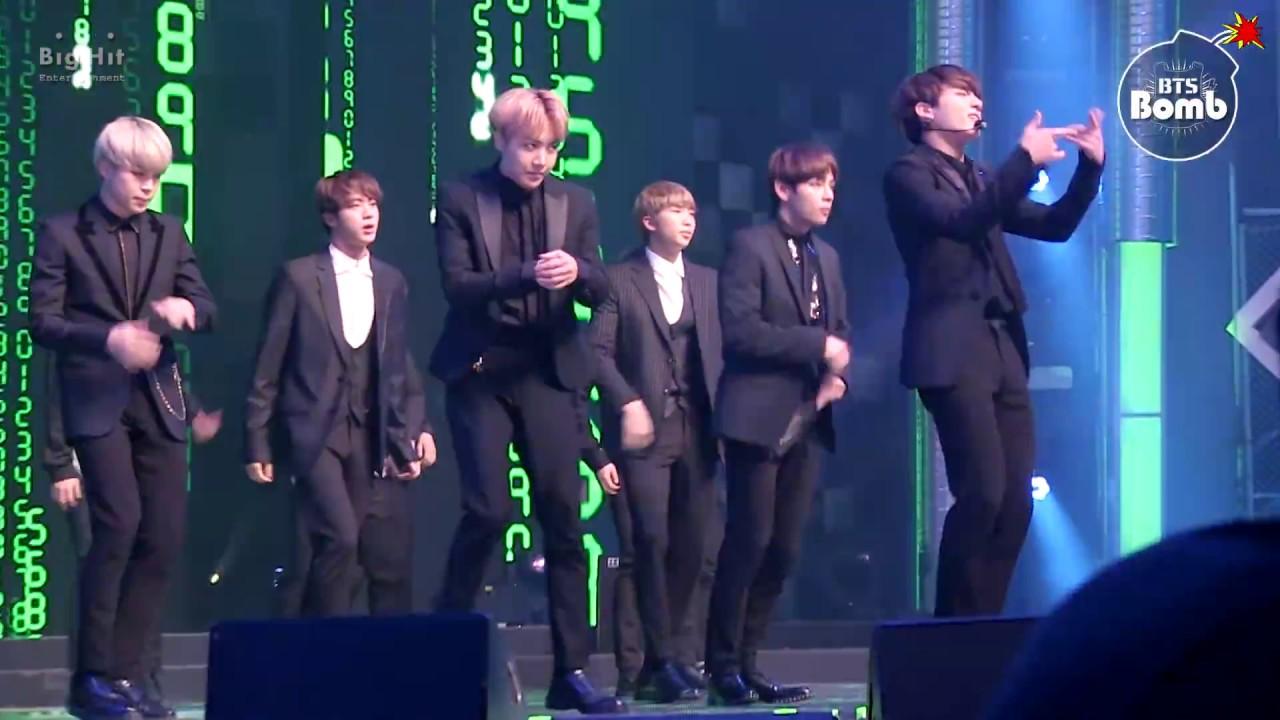 [BANGTAN BOMB] 'Rainism' Special stage @ MBC 가요대제전 2016 - BTS (방탄소년단)