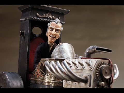 """""""The Seeker"""" - A Gothic Hot Rod - 2016 - Automaton by Tom Haney"""