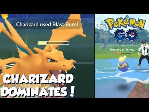 CHARIZARD DOMINATES THE TEMPEST CUP! Pokemon GO PvP Great League Battles thumbnail