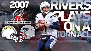 Remember that Game When Philip Rivers Played on a Torn ACL? | NFL Highlights