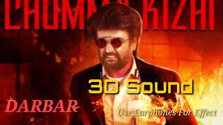 DARBAR (Tamil) - Chumma Kizhi 3D Surround High bass boosted Mp3 Song (🎧 Use Stereo Headphone Must)
