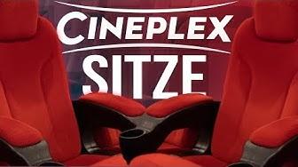 CINEPLEX SITZE |  KINOSITZE : Loge oder Parkett - Wo sitzt man am besten ?