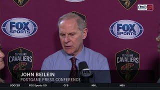 John Beilein: We couldn't stop 'pendulum from swinging' with LeBron | CAVS-LAKERS POSTGAME