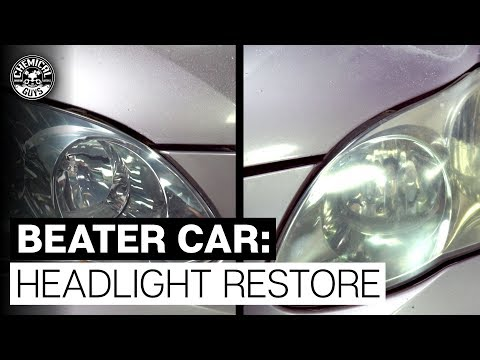 How To Revive REALLY BAD Headlights! - Chemical Guys