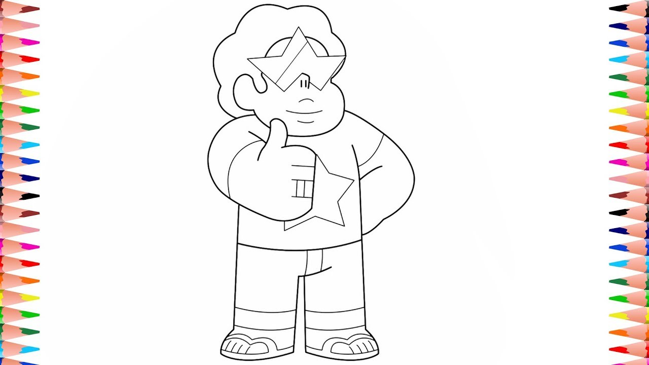 Steven Universe Future Coloring Pages | Garnet Steven ...