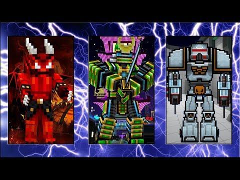 Pixel Gun 3D - Demon Stone VS Robot Samurai VS Battle Mech (+ Last Samurai Review)