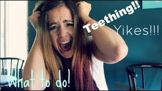 Repeat youtube video Teething! Yikes! |  Helpful Tips On Dealing With Your Teething Baby!