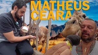 ALIMENTEI UMA GIRAFA COM MATHEUS CEARÁ! | RICHARD RASMUSSEN