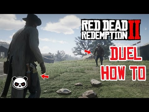 Red Dead Redemption 2 How To Duel Very Easy