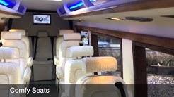 Luxury Mercedes Limo Bus