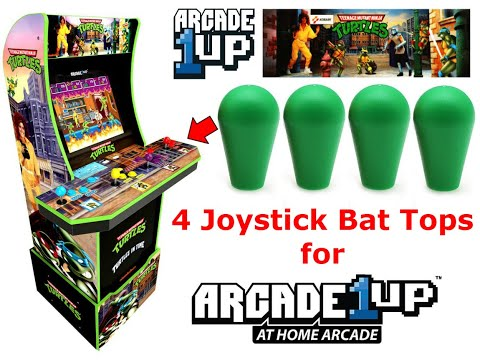 Arcade1up TMNT Teenage Mutant Ninja Turtles Mod Upgrade Controls Hardware Modification! from Jonathan's Toy Chest