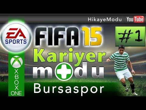 Fifa 15 Kariyer Modu - Bursaspor #1 Yeni Sezon Yeni Umutlar