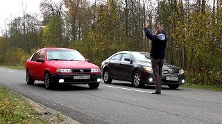 Японо-Немецкая Дуэль. Toyota Vs Opel