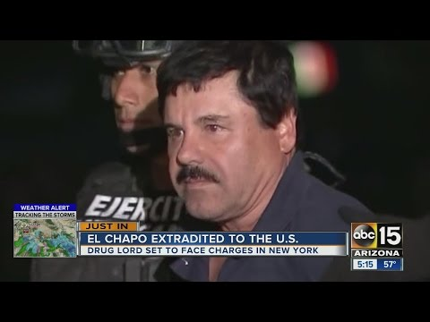 Drug Lord El Chapo Extradited To The U.S.