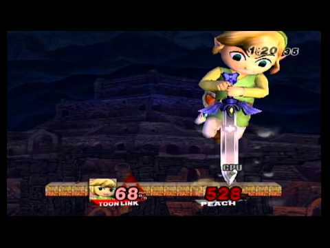 Link Vs Mario Brawl Super Smash Bros Brawl...