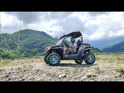 PUBG Buggy    1st time in NAPAL   CFMOTO ZForce 550EX 4x4