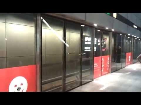 Copenhagen Metro - M1 from Kongens Nytorv to Christianshavn