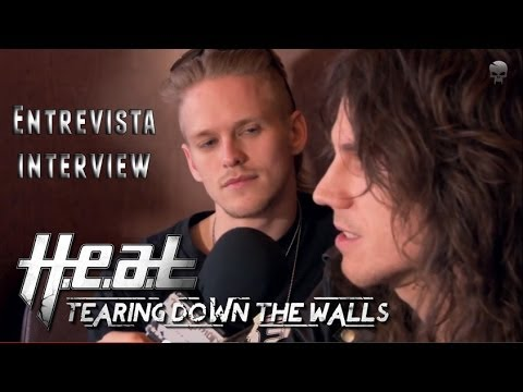 Entrevista H.E.A.T. Tearing Down the Walls 2014 (@Madrid)