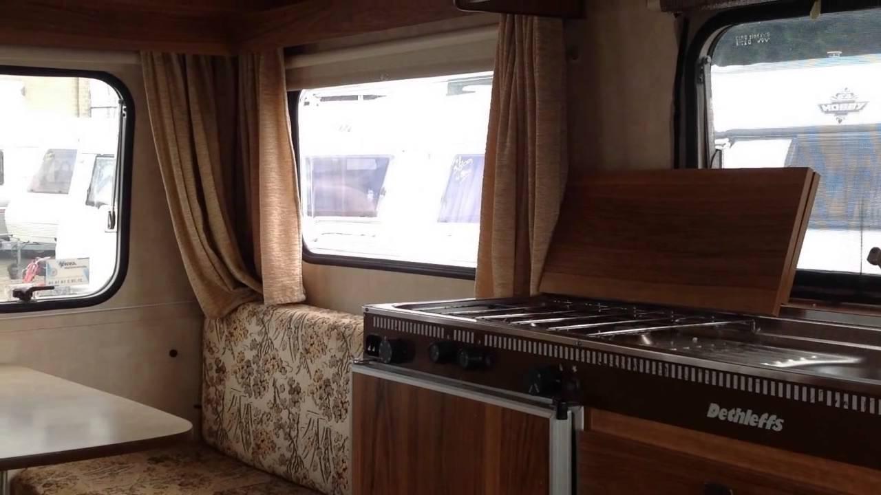Caravan te koop: DETHLEFFS CAMPER NETTE DROGE 4 PERS, RETRO - YouTube