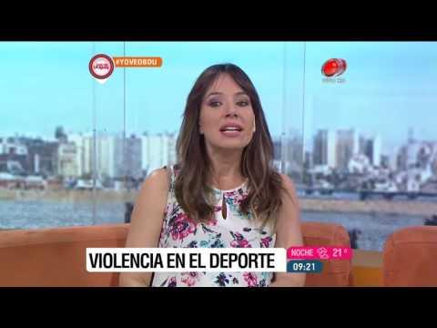 Buen día Uruguay - Violencia en el deporte 25 de Noviembre de 2016