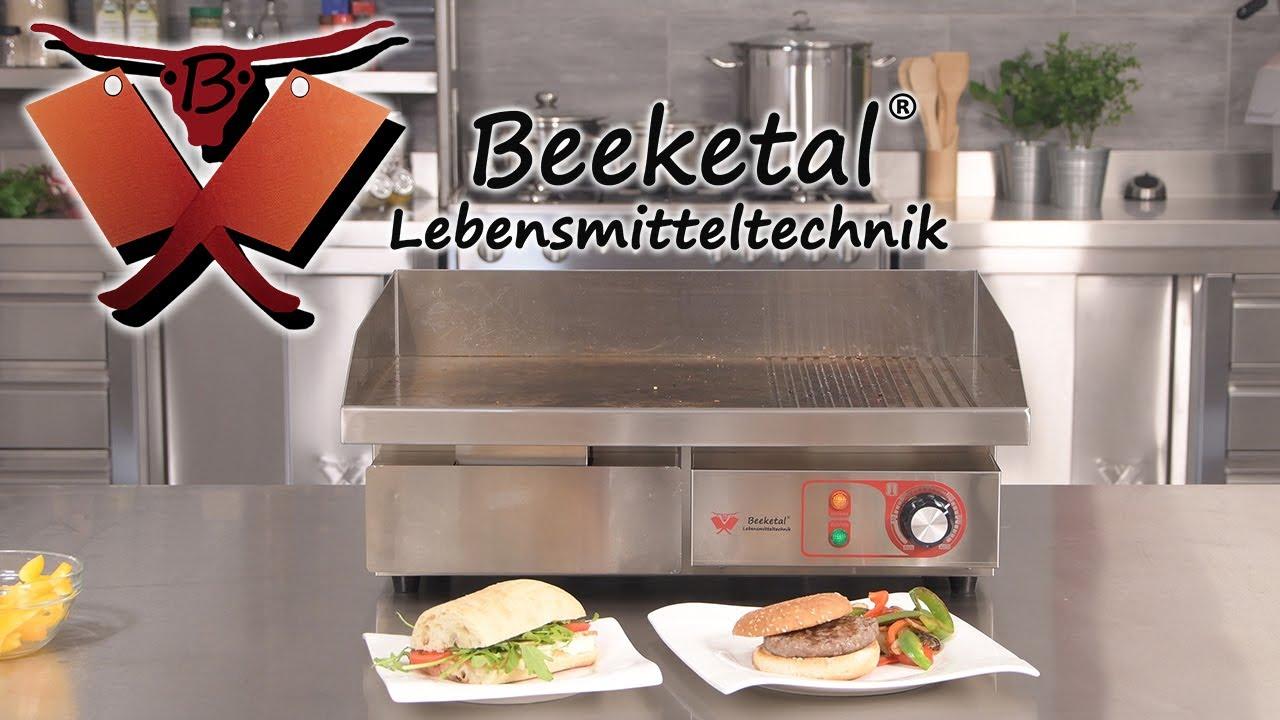 Gastronomie Grillplatte Grill Bratplatte Bräter Griddleplatte Griddleplatte 70cm
