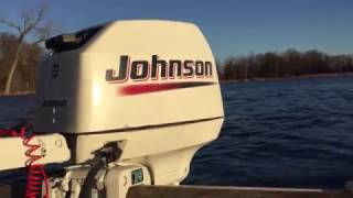 2003 Johnson 6hp outboard motor