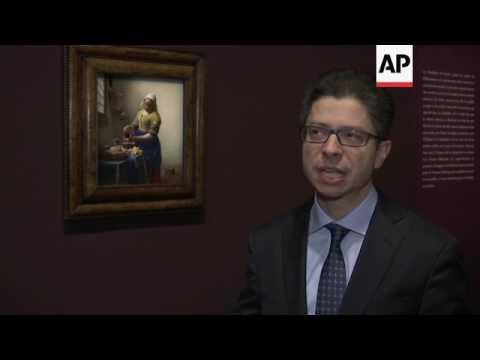 Landmark Louvre exhibition of master painter Vermeer opens