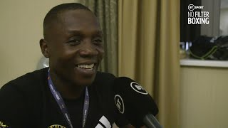 Tunde Ajayi immediate reaction to Kovalev v Yarde, not throwing in towel, crazy eighth round