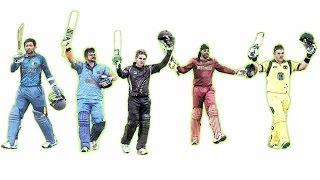 First 10 batsmen ever to score a T20 century
