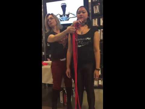 @planetmidori and ornamental rope bondage #dykedayla