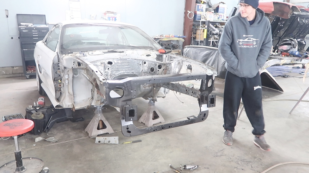 SN95 Mustang New Core Support Install TKO005