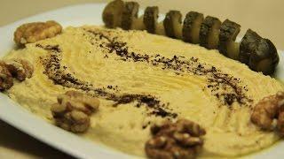 Hummus Recipe - Simple Turkish Hummus with Tahini