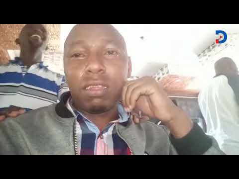 Man crying tears of joy in Eldoret after Eliud Kipchoge's win