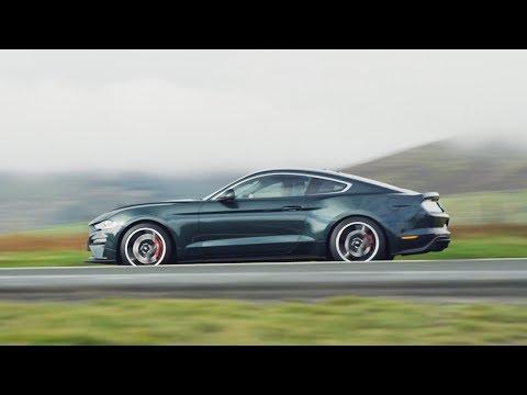 Ford Mustang BULLITT roars on the Isle of Man TT's Mountain Road
