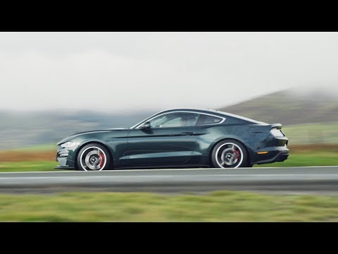 Ford Mustang BULLITT roars on the Isle of Man TT's Mountain Road